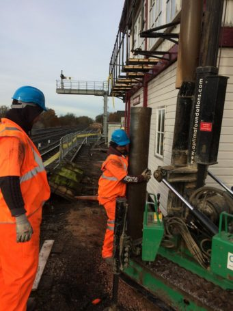 Industrial & Commercial Piling   Driven Piles   Optima Foundations