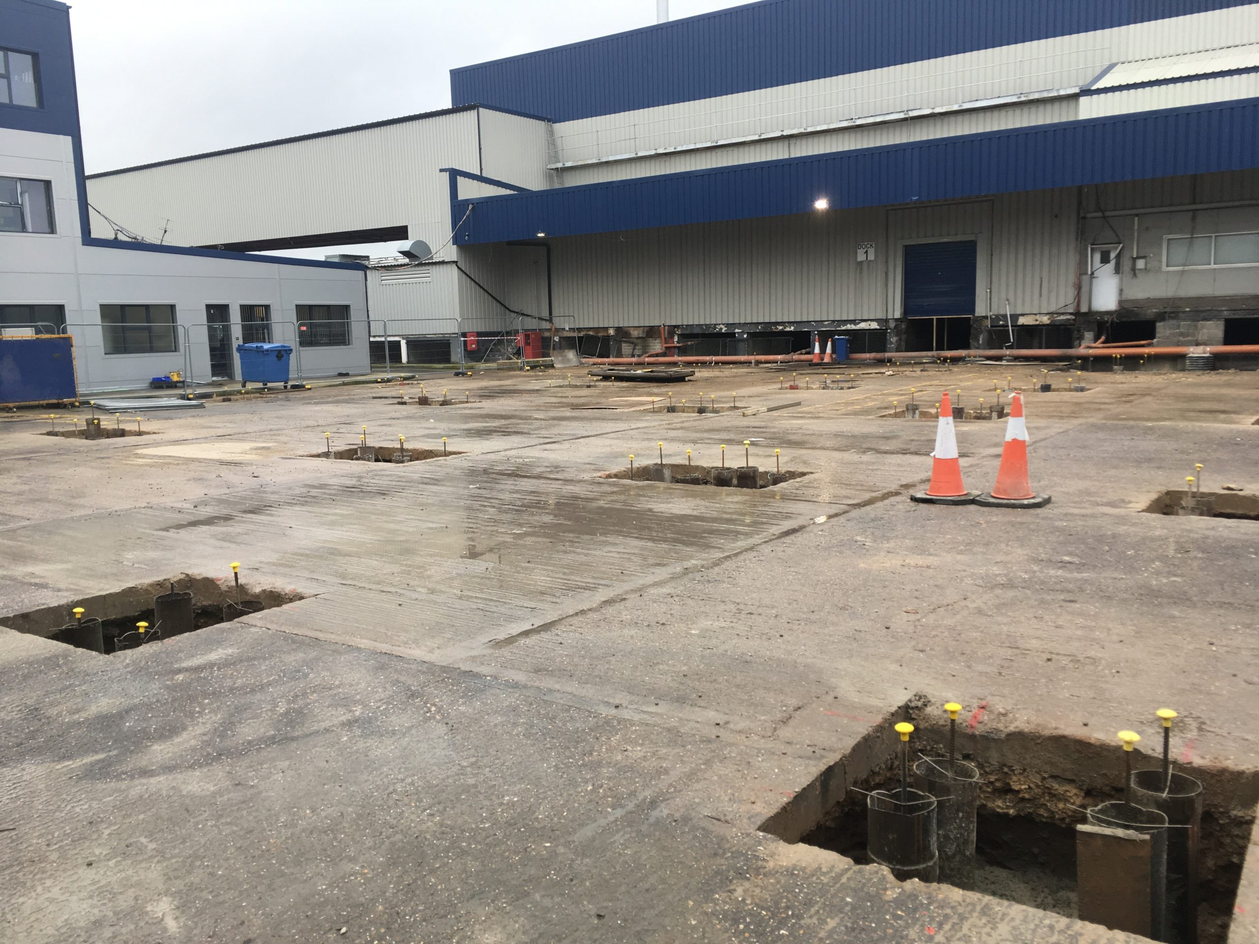 Industrial Foundations | Optima Foundations
