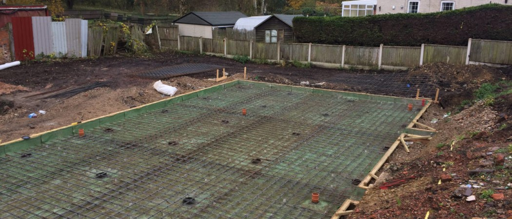 Piled Slab Brinsley | New Build | Optima Foundations
